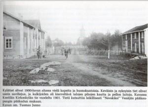 Kestilän raitti 1901